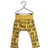 Wolf & Rita Joao Legging, Yellow Alphabet Soup