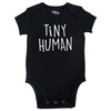 Tiny Human Bodysuit, Black