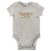 Vacation Mode Bodysuit, Grey