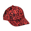Mini Rodini Leopard Cap, Red