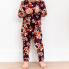 2-Piece Outfit, Berry Floral