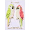 Iron-On Patches, Parrots