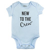 New to the Crew Bodysuit, Light Blue