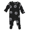 Organic Footed Romper, Spheres