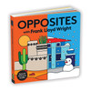 Board Book, Opposites with Frank Lloyd Wright