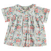 Peter Pan Collared Blouse, Flowers