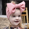 Headwrap Bow, Rose Pink