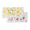 Lemon & Strawberry Security Blankets, 2-pack
