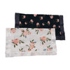 Peach Rose & Midnight Rose Security Blankets, 2-pack