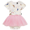 Rock Your Baby Circus Dress, Unicorn Rainbow