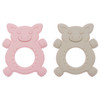 Silicone Teether Set, Giggly Piggly