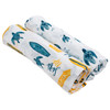 Muslin Swaddle Set, Surf/Sea Turtles