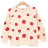 Sweatshirt, Flamenco Dots