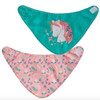 Unicorn Bib Set, 2-Pack