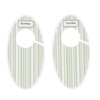 Closet Divider Set, Green Stripe