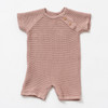 Organic Knit Shortall, Berry