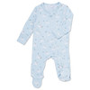 Baby Bunnies Zipper Footie, Blue