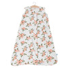 Cotton Muslin Sleep Bag, Peach Rose
