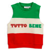 Sleeveless Sweatshirt, Tutto Bene