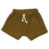 Organic Terry Shorts, Curry