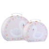 Set of 2 Suitcases, Freya Swan
