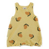 Sleeveless Romper, Mangoes