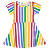 Skater Dress, Rainbow Stripe