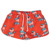 Swim Trunks, Red Poodle