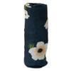 Deluxe Muslin Swaddle, White Anemone