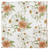 Muslin Swaddle, White Spring Blossom