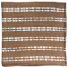 Muslin Swaddle, Mocha Arrows