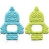 Silicone Teether Set, Robot