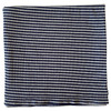 Ribbed Stretch Swaddle, Navy Charcoal Stripe