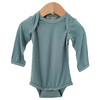 Long Sleeve Bodysuit, Seabreeze