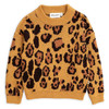 Mini Rodini Knitted Sweater, Leopard