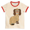 Mini Rodini Binding Tee, Dashing Dog