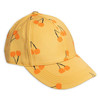 Mini Rodini Cherry Cap, Yellow