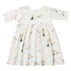 Rylee & Cru Finn Dress, Winter Birds