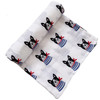 Muslin Swaddle, Frenchie the Dog