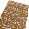 Muslin Changing Pad Cover, Ochre Mudcloth
