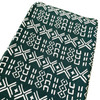 Muslin Changing Pad Cover, Forest Mudcloth