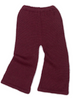 Oeuf Burgundy Bell Bottom Pants
