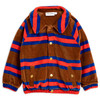 Mini Rodini Jacket, Velour Stripe