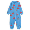 Mini Rodini Cherry Jumpsuit, Blue
