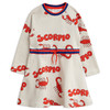 Mini Rodini Sweatdress, Scorpio