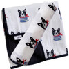 Swaddle & Quilt Bundle Set, Frenchie the Dog