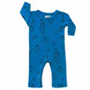 LS Bread Romper, Steel Blue