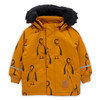 Mini Rodini K2 Penguin Parka, Brown