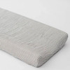Changing Pad Cover, Grey Stripe