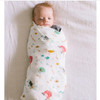 Farm Animals Bamboo Swaddle